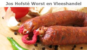 Jos Hofsté Worst en vleeshandel
