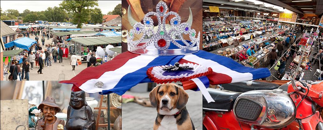 Extra markt op Koningsdag