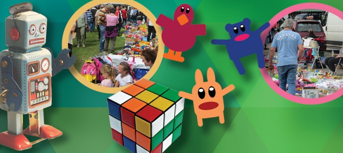 Zondag 9 augustus Kinderrommelmarkt