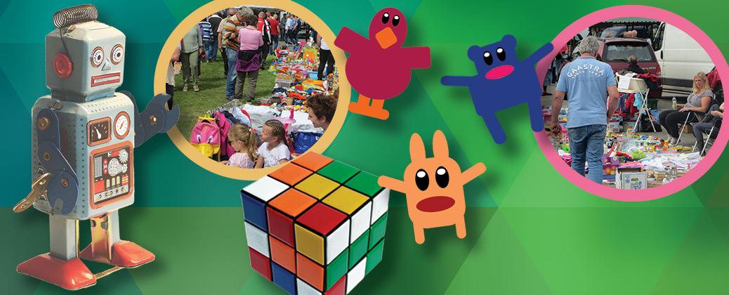 Zondag 14 juli met Kinderrommelmarkt!