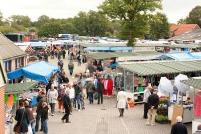 Weerselose Markt op zaterdag