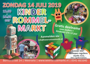 Kinderrommelmarkt-flyer